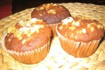 Kirsch-Nougat-Muffins